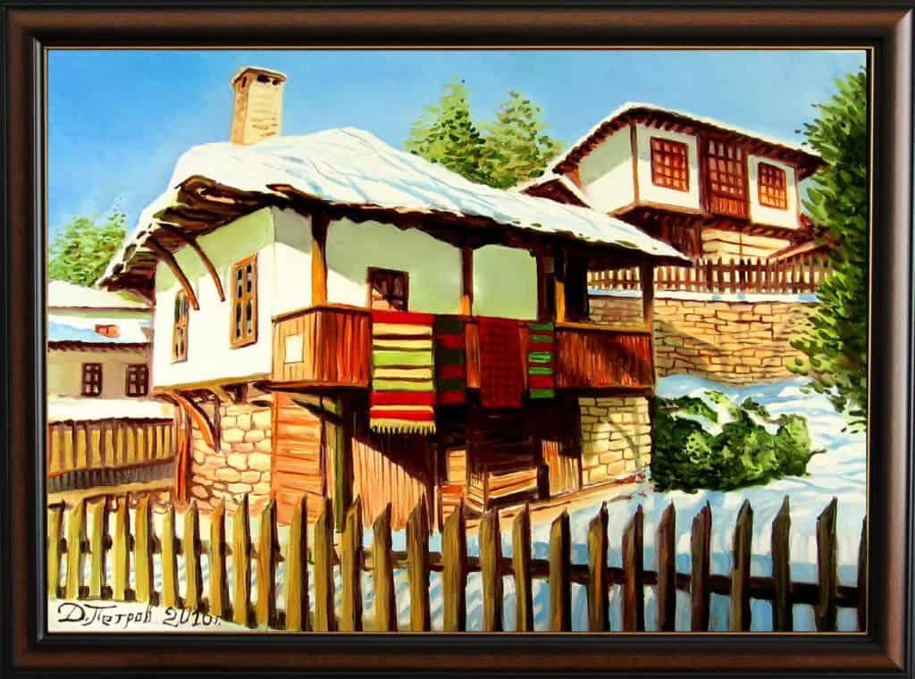 """""""Безценният спомен"""" - маслени бои на платно 50x70 см. - (продадена)"""