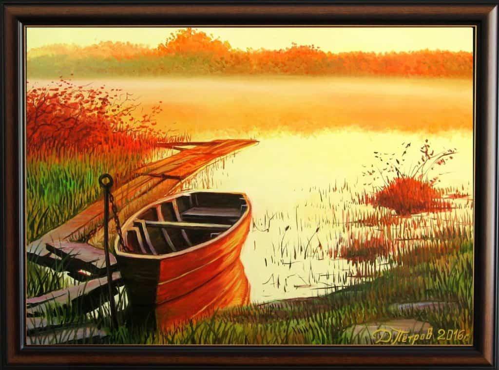 """""""Едно ново начало"""" - маслени бои на платно 50x70 см. - (продадена)"""