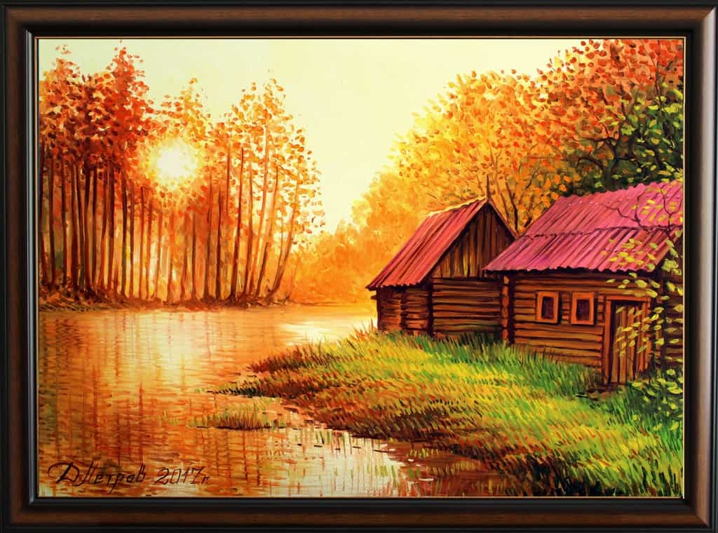 """НОВО!!! - """"Изгубената долина"""" - маслени бои на платно 70x50 см. - (продадена)"""