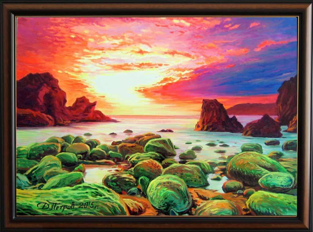 """""""Олтарът на мечтите"""" - маслени бои на платно 50х70 см. - (продадена)"""