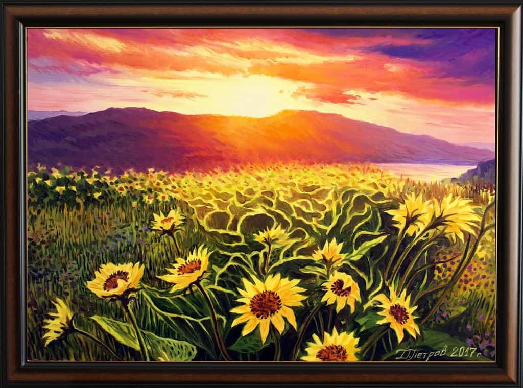 """The delicate flavor of love"" - oil on canvas 70x50 cm. - 330 euro"