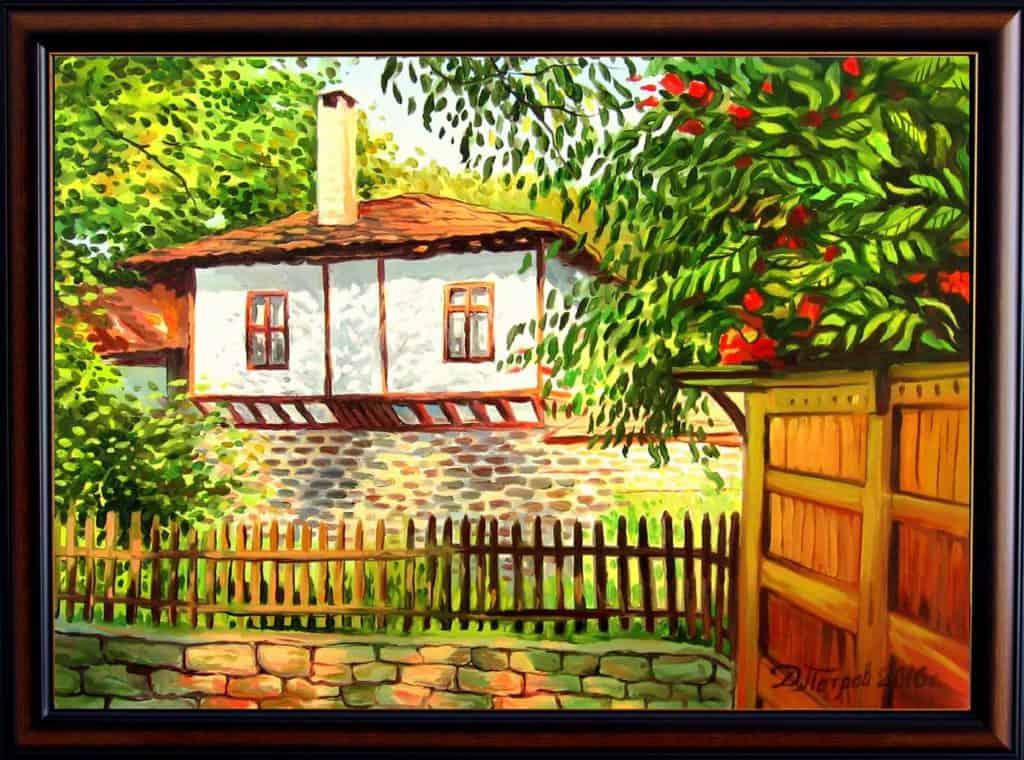 """""""Хармония"""" - маслени бои на платно 50x70 см. - (продадена)"""