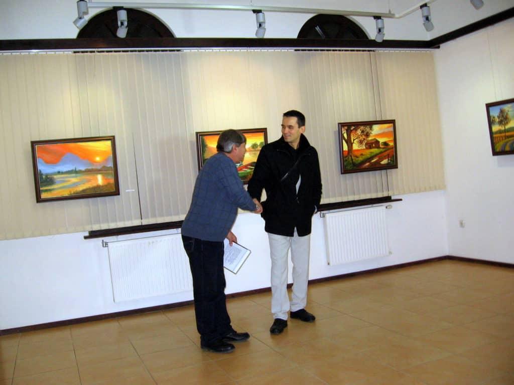 Първа самостоятелна изложба - Дамян Петров