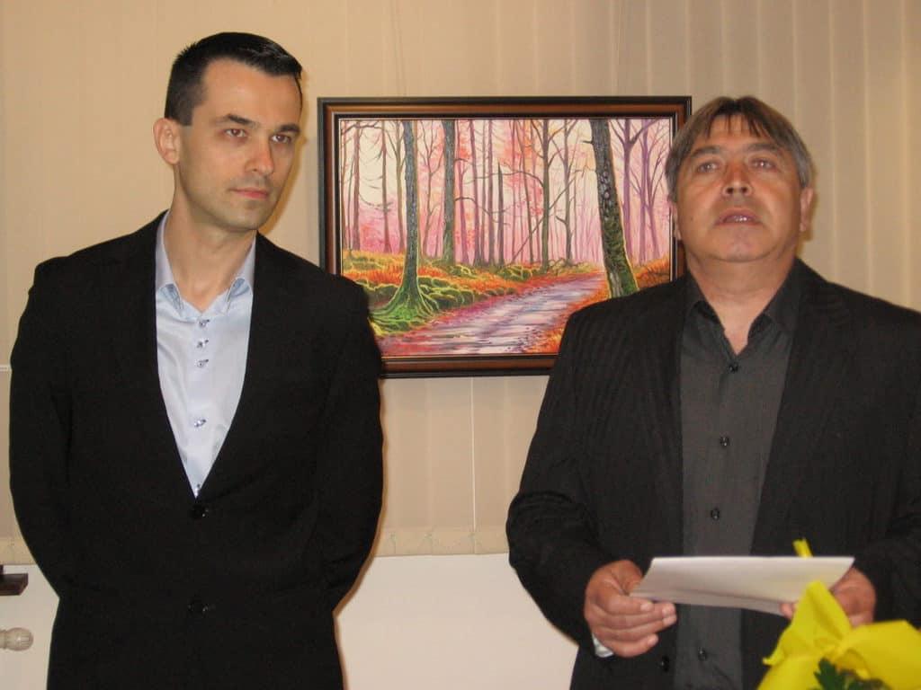 Втора самостоятелна изложба на художника Дамян Петров
