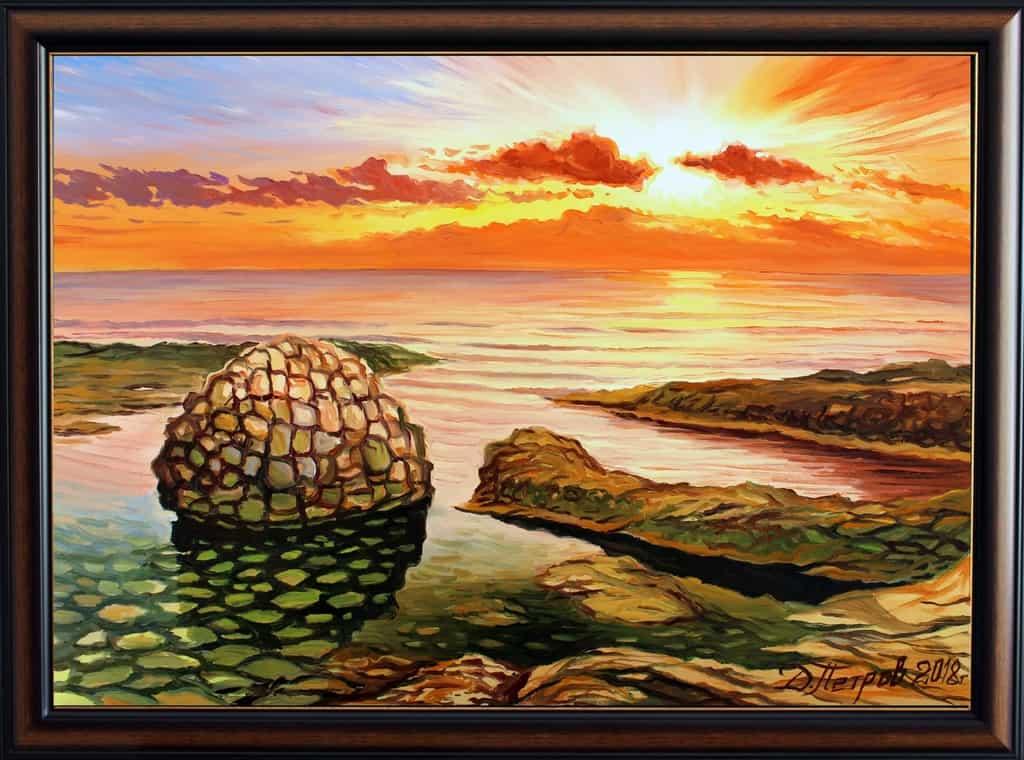 """Mirage"" - oil on canvas - 70 x 50 cm. - 290 euro"