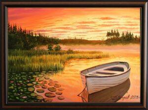 Езерото на мечтите - картина