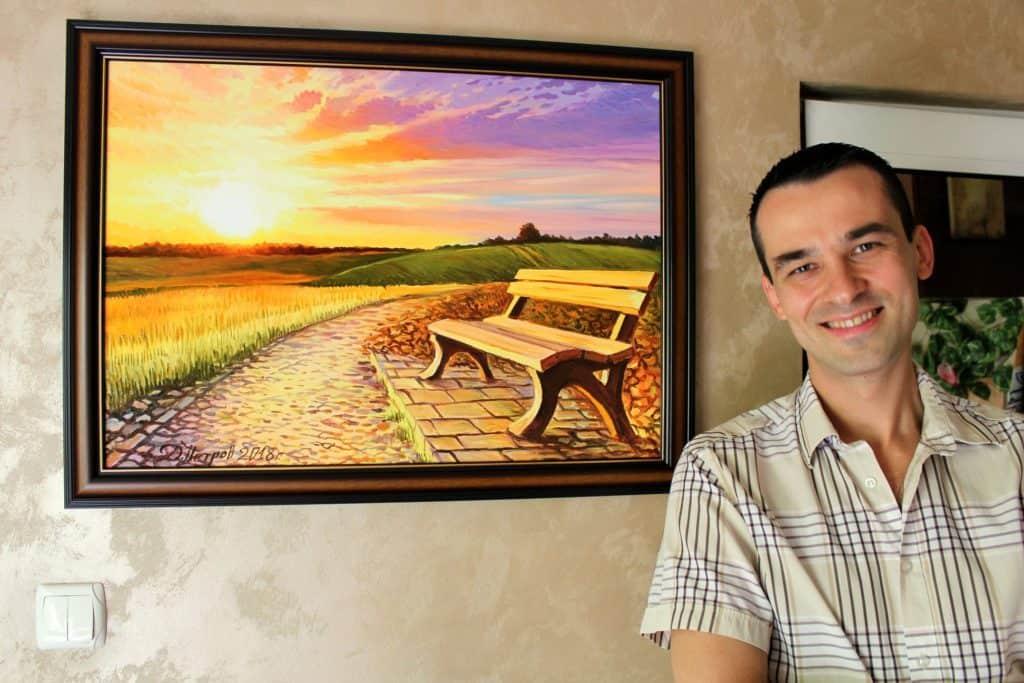 Картини за дома от художника Дамян Петров - реоритетът ми винаги са били моите почитатели и затова реших да направя следното. Знам, че не всеки може да си позволи да плати наведнъж картината, която си е харесал. Това е причината вече да предлагам опцията за разсрочено плащане.