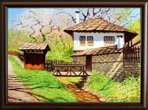 Слънчевата целувка на пролетта - картина