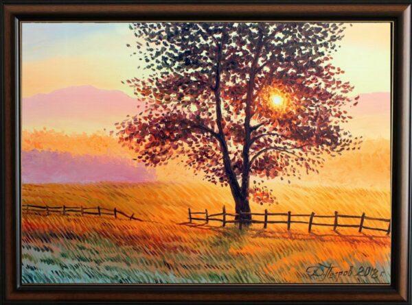 Дървото на спомените - картина