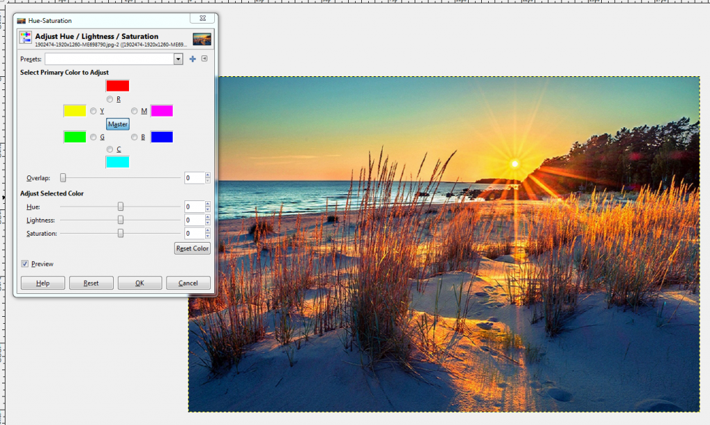 _на_цветовете_с_GIMP Фотоимпресионизъм - Новото течение в изкуството
