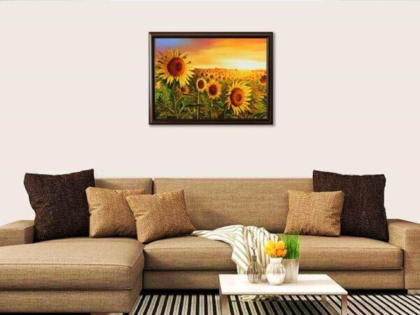 Удовлетворение - картина за стена