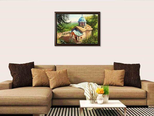 Усамотение със себе си - картина за стена