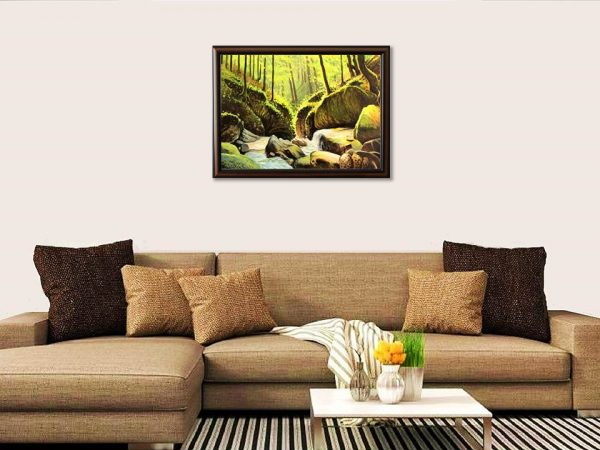 Горска прохлада - картина за стена