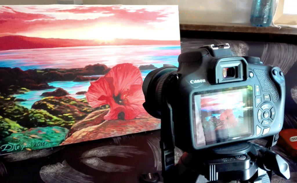 -да-снимаме-картините-си Как да снимаме картините си?