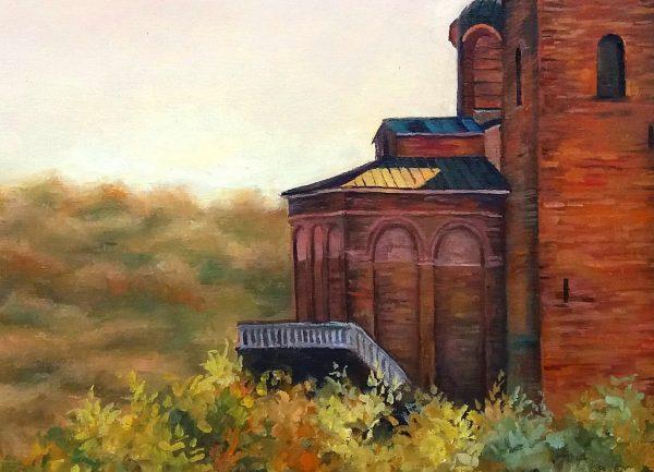 Извисяване - Велико Търново - картина - детайл 1