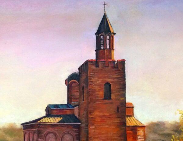 Извисяване - Велико Търново - картина - детайл