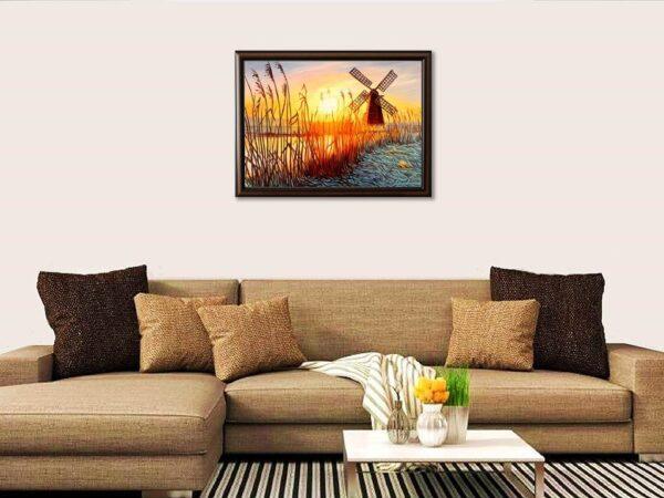 Далече от дома - картина за стена