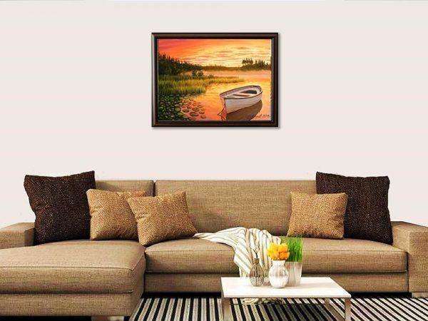 Езерото на мечтите - картина за стена