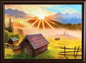 Забравената долина - картина