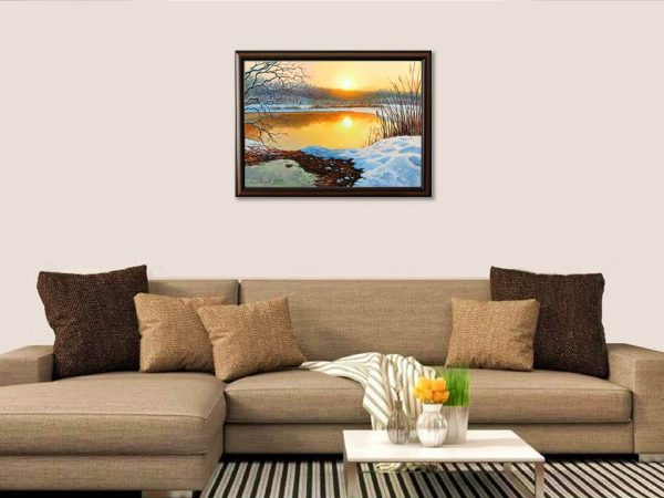 Тихо усамотение - картина за стена