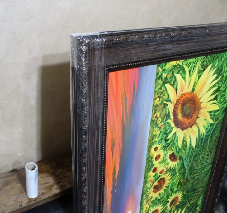 -на-рамката-на-картина-със-стреч-фолио-scaled-e1575300624151 Как се съхранява маслена картина?