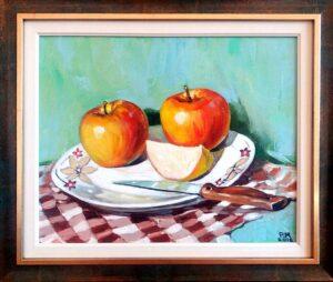 Ябълки - натюрморт