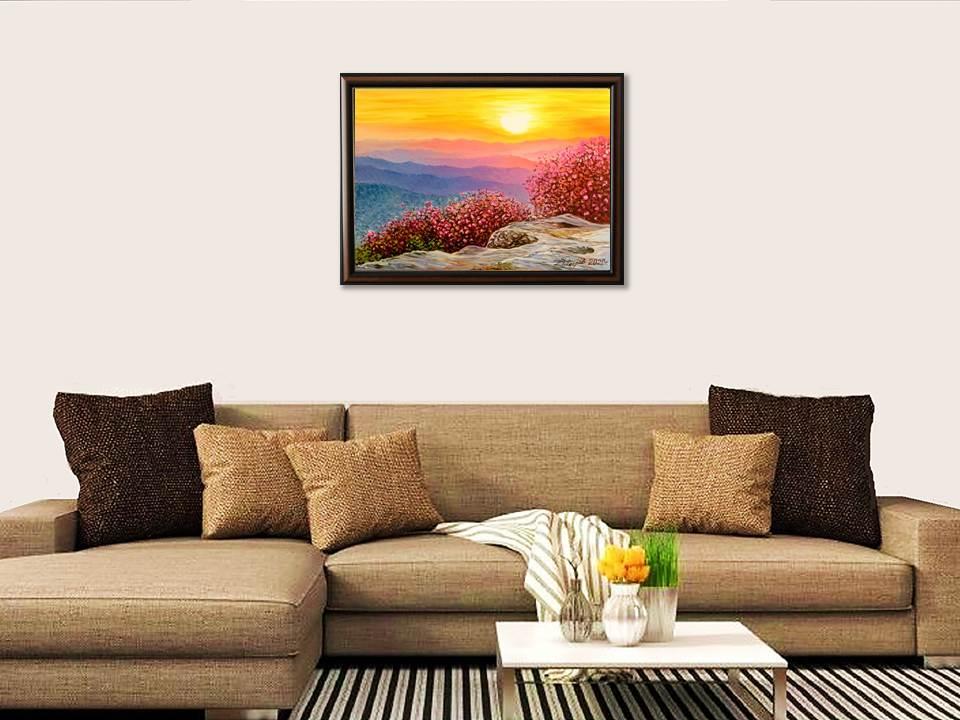Отвъд-хоризонта-картина-за-стена Ценообразуване на картина - Как да определим цена за картина?