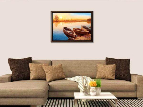 Смирено очакване - картина за стена
