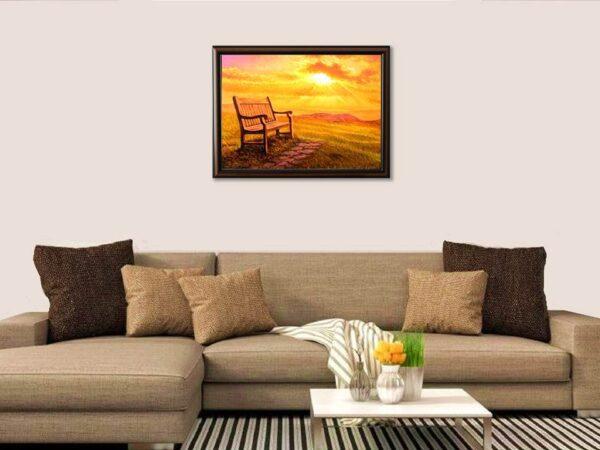 Царството на слънцето - картина за стена