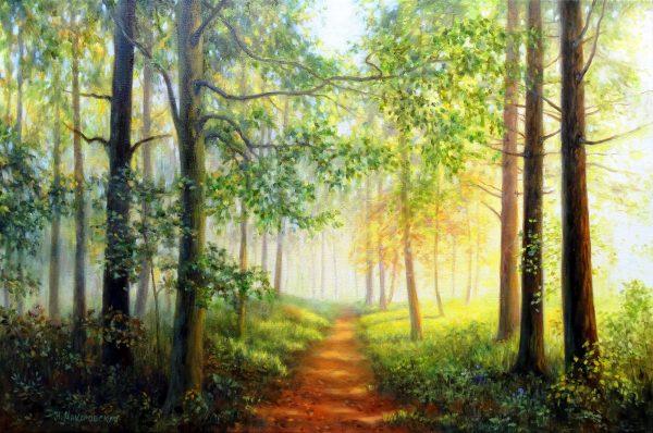 Слънчевата гора - картина