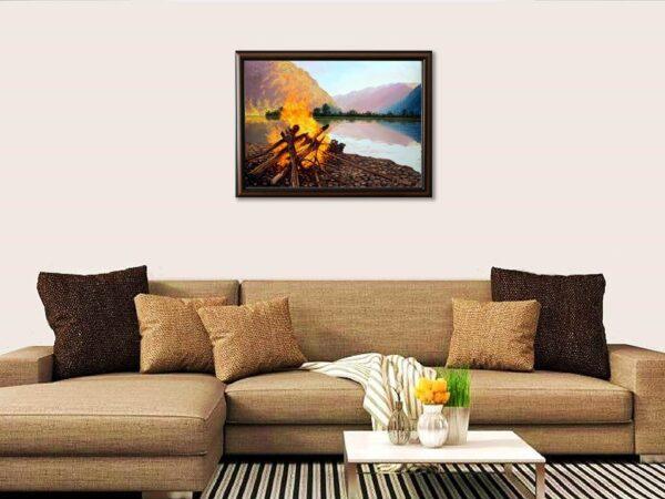 Утринна топлина - картина за стена