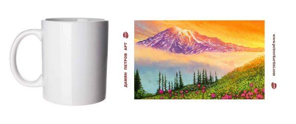Вдъхновение - чаша с картина