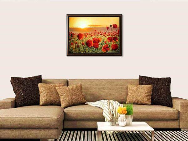 Момент на нежност - картина за стена