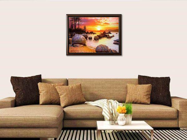 Тихо съзерцание - картина за стена