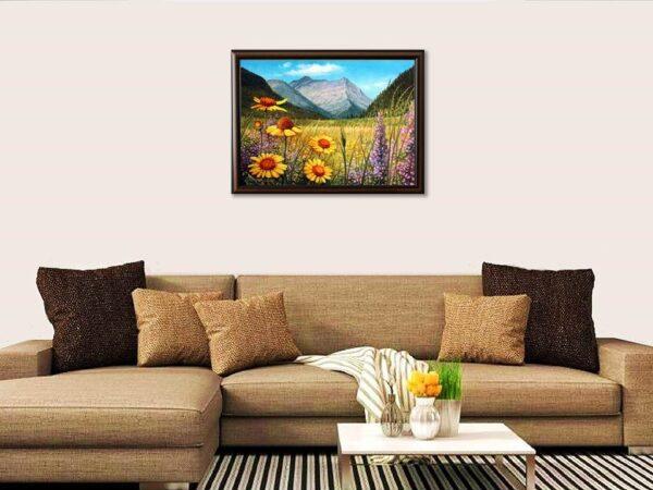 Ароматът на планината - картина за стена
