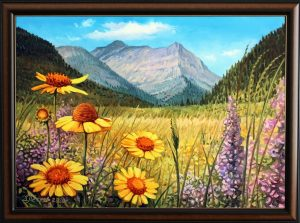 Ароматът на планината - картина