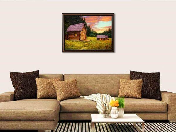 Заслужена почивка - картина за стена