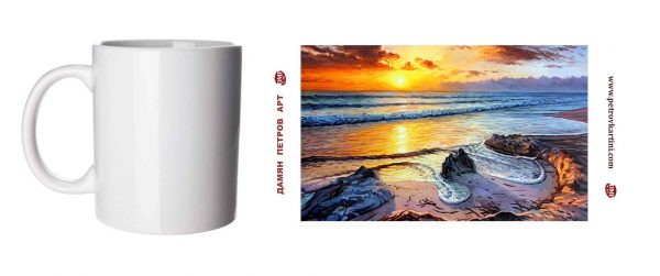 Нежно откровение - чаша с картина
