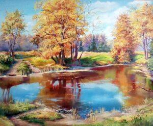 Топла есен