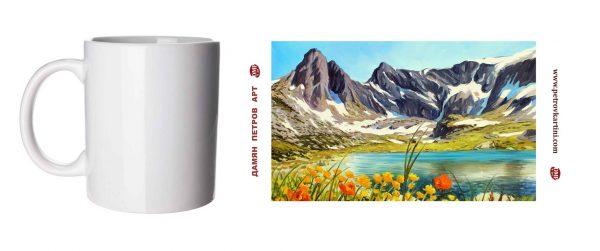 Кристална тишина - чаша с картина