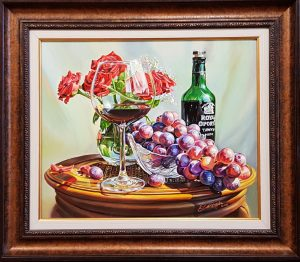 Натюрморт с грозде
