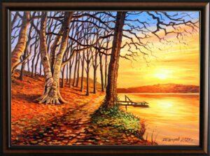 Последните лъчи на октомври - картина