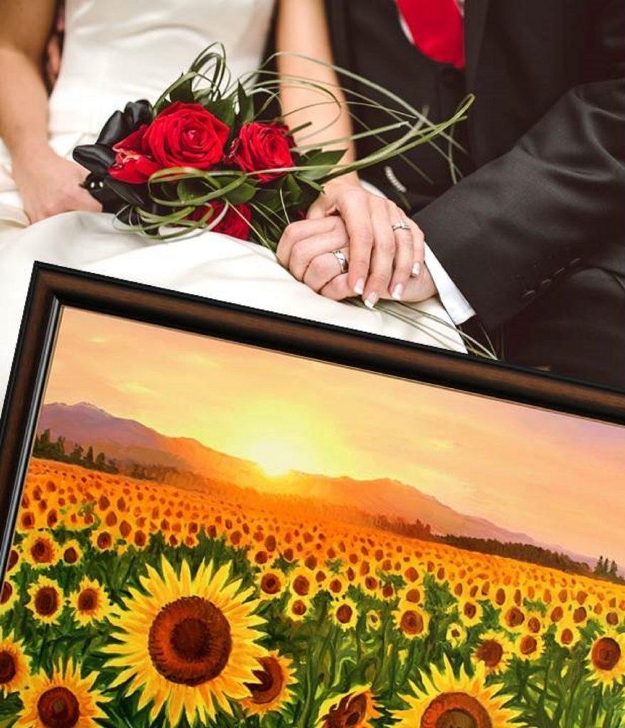 Подарък за сватба - избор на картина