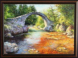 Тайната на вълшебната река - картина