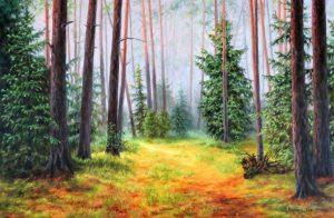 Слушайки гласовете на гората