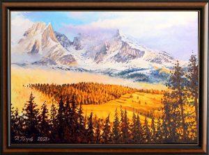 Свещените планини - картина