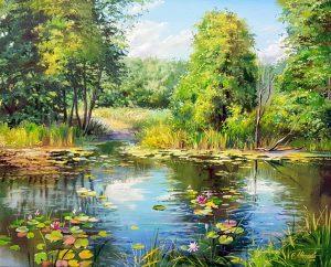 Езерото с лилии 2