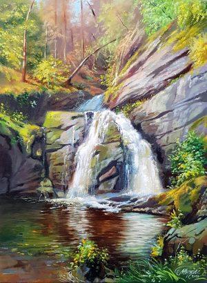 Почивка до водопада