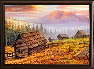 Планината на дракона - картина