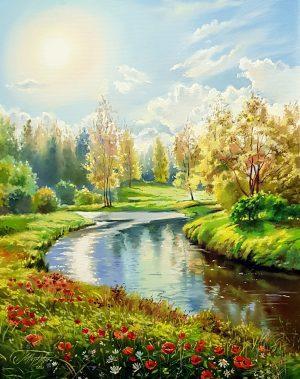 Слънчевата река
